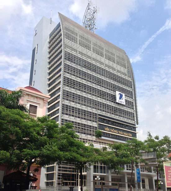 Giới thiệu công trình VNPT Thái Nguyên